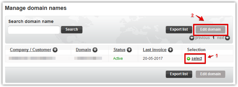 Access DNS on Domein-Registreren